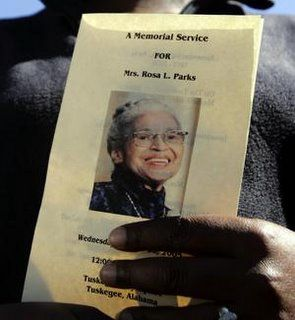 Rosa Parks Death | Rosa Parks lie in honor at Capital Sunday and Monday