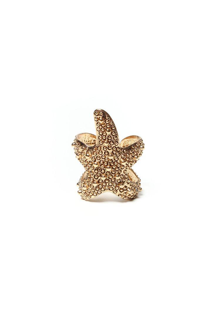 Starfish Ring - Gold – Calico
