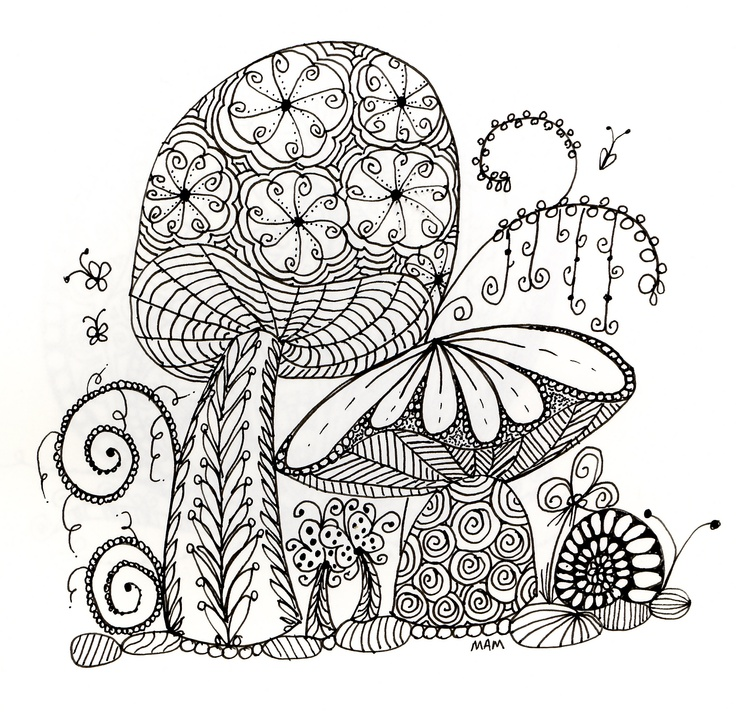 shroom coloring pages - photo#22