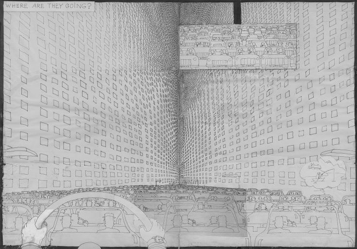 Not Another Architecture Student: FICTIONAL FRIDAY: PUSHWAGNER'S SOFT CITY