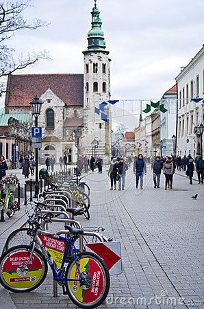 Grodzka Street In Cracow Poland - Download From Over 53 Million High Quality Stock Photos, Images, Vectors. Sign up for FREE today. Image: 83960284
