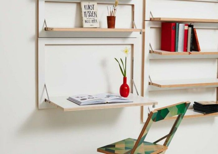 Best 25 Folding Desk Ideas On Pinterest Fold Away Desk Space Saver Table And Murphy Desk