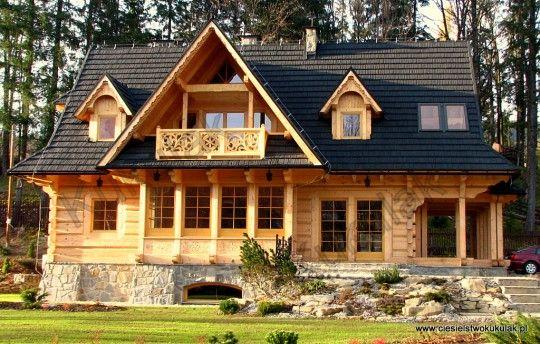Domy z bali - domy góralskie, karczmy i hotele