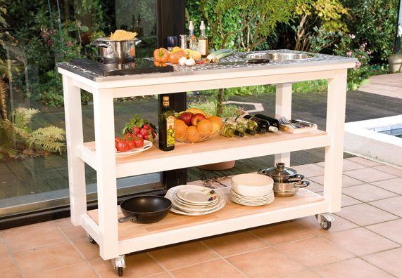 Sommerküchen Möbel : Sommerküche möbel entwerfen sie eine komfortable und schicke