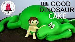 how to make a dinosaur cake - YouTube