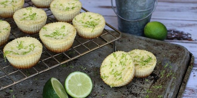 Low Carb Key Lime Cheesecakes - with macadamia nut crust - 2.2g Net ...