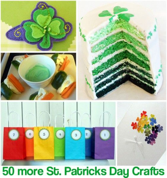 50+ More St. Patricks Day Crafts