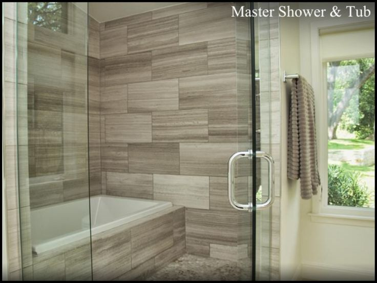 25 best images about bathroom tile remodel ideas on for Fully enclosed shower