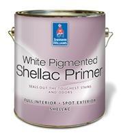 Sherwin Williams White Pigmented Shellac 3.8Lt