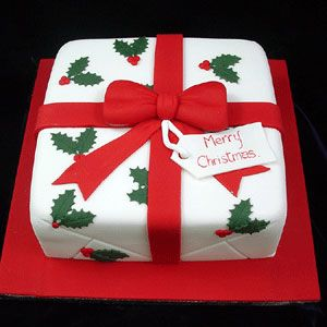 christmas cakes designs | any size of cake you need to cater for your many guests. All cakes ...