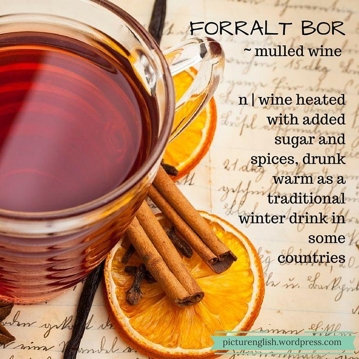 Mulled wine / Forralt bor