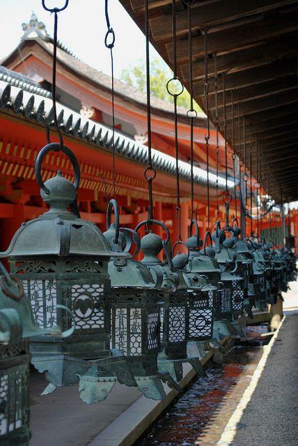 Kasuga shrine, Nara (Boeddhistische tempelcomplex) Japan