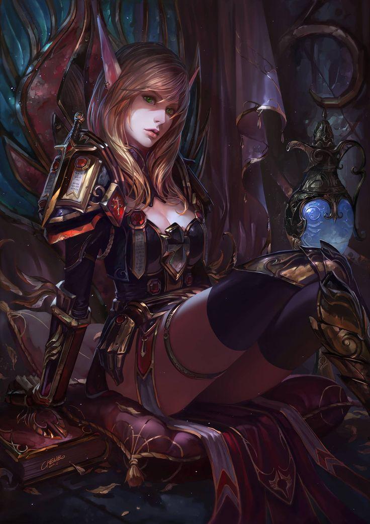 WoW Blood Elf Paladin