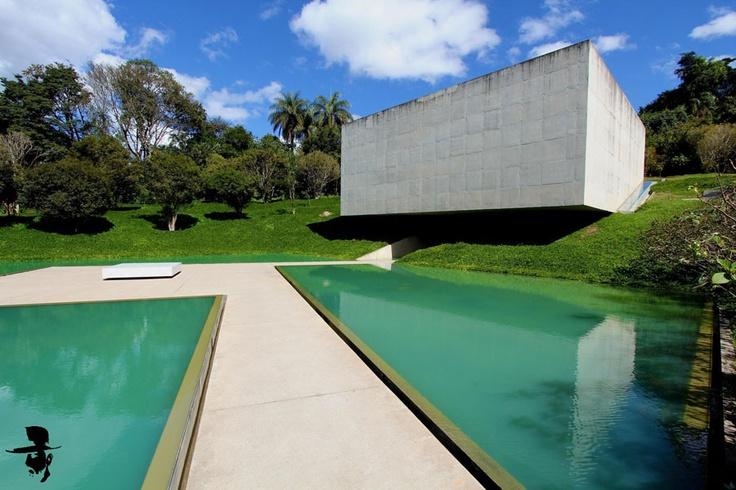 Inhotim - Brumadinho, MG  Adriana Varejao Pavillion  The best outdoor Contemporary Art Museum