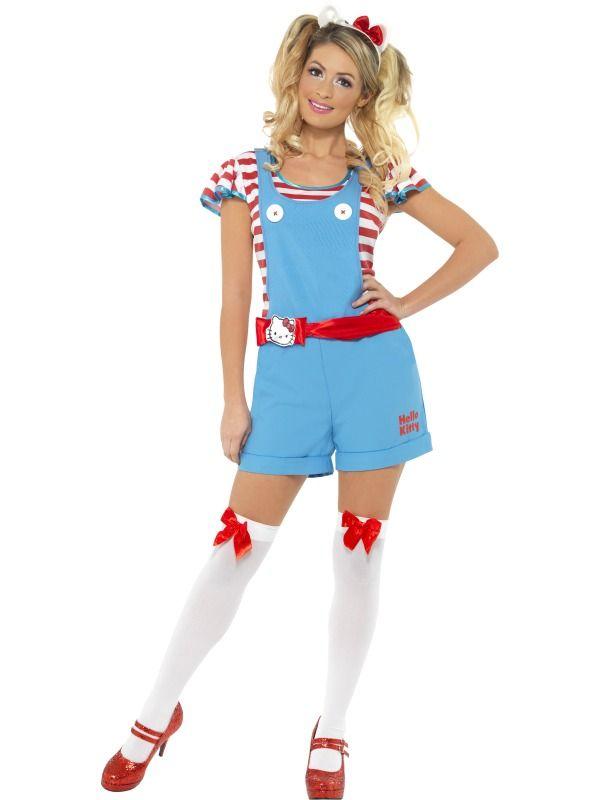 Hello Kitty cute Halloween costume