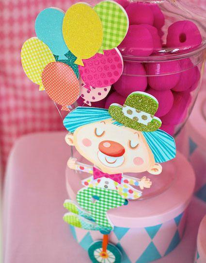 Fiesta de cumpleaños inspirada en el circo - Inspiración e ideas para fiestas de cumpleaños - Fiestas de cumple para niños - Página 5 - Charhadas.com
