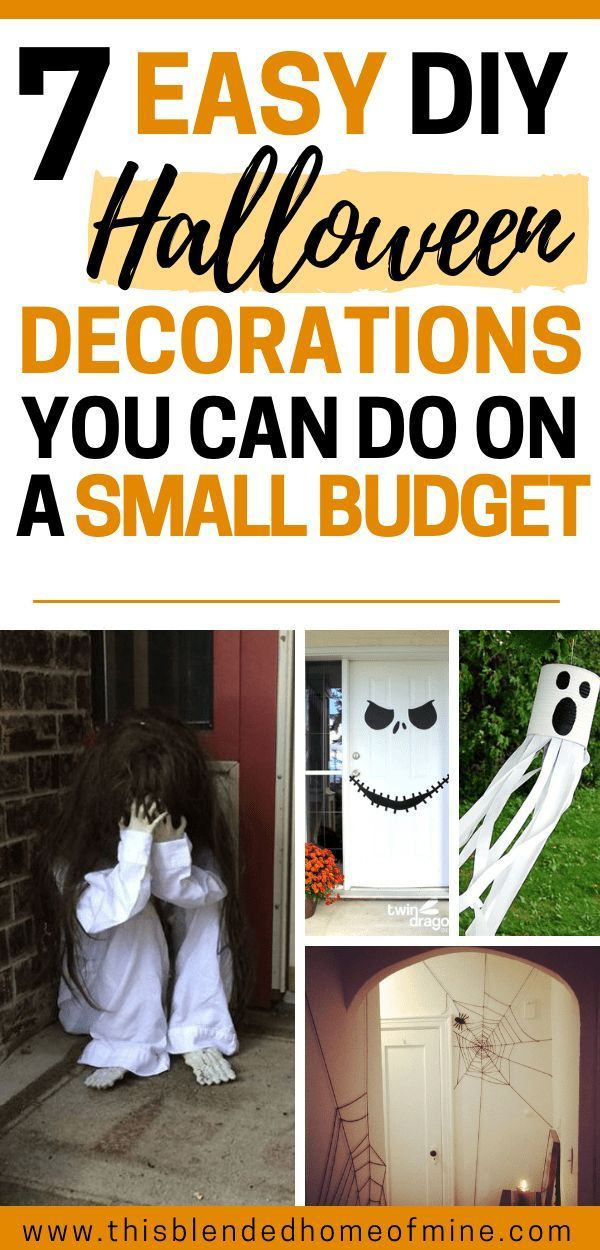 Cheap Halloween Decorations You Can Do On A Small Budget