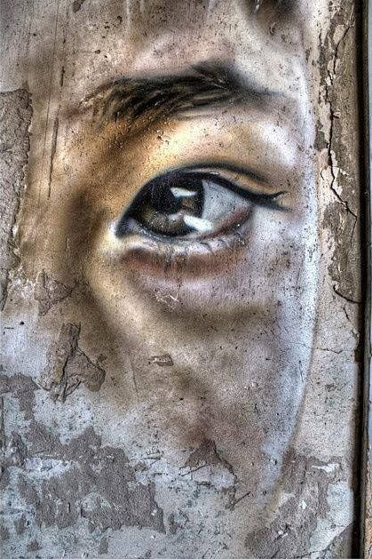 Matt Adnate.. . #streetart - I SO LOVE THIS!! IT MUST BE 'THE EYES' AGAIN, OUI !! ✳✳✳