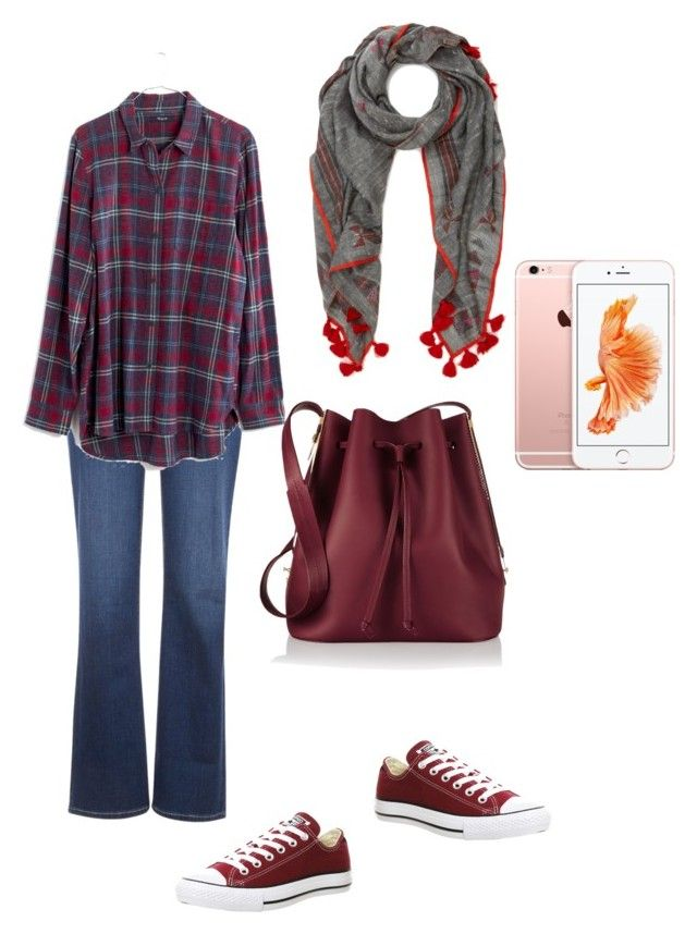 """Going home outfit"" by dessy-latief on Polyvore featuring Levi's, Madewell, Converse, Sophie Hulme and Inouitoosh"