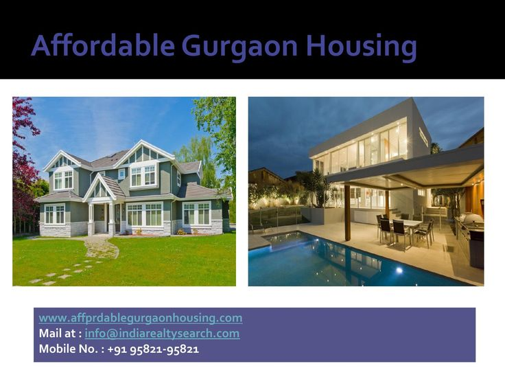 Affordable Gurgaon Housing