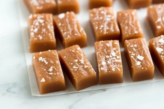 Tested with lessons learned. Use this one!  Simple Salted Caramels Recipe from www.inspiredtaste.net #recipe #caramel #dessert