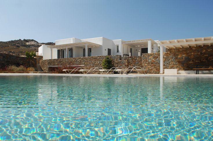 Enjoy luxury villa rental in Mykonos by booking this amazing private villa Crysiis!