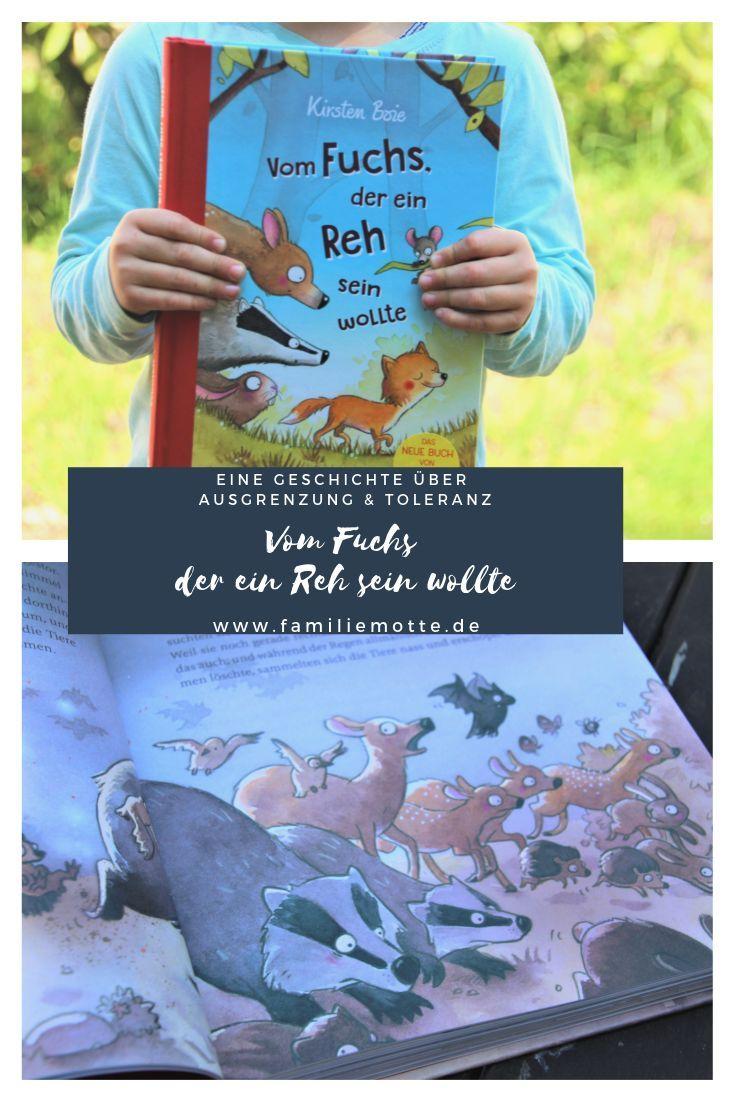 Vom Fuchs Der Ein Reh Sein Wollte Das Neue Kinderbuch Von Kirsten Boie Kinderbucher Bucher Und Gemeinsames Lesen