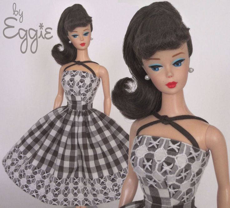 Cross Purposes - Vintage Reproduction Repro Barbie Doll Dress Clothes Fashions #Fanfare