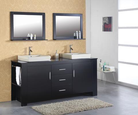 Images On Virtu USA MD Tavian Bathroom Vanity Espresso Finish http