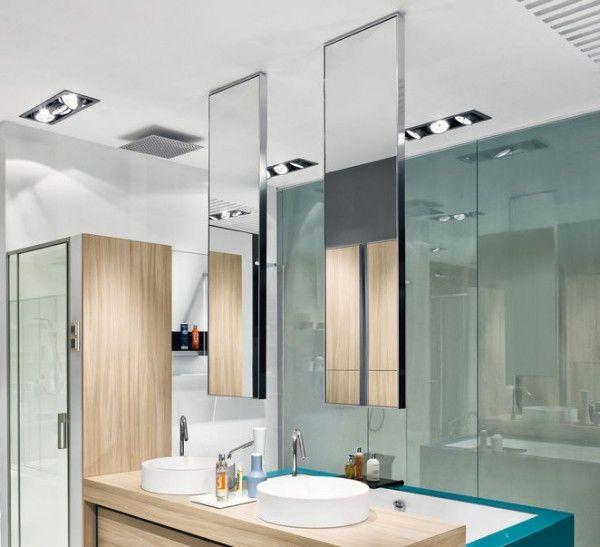 23 best images about salle de bain on Pinterest Sweet home, Design - Meuble Avec Miroir Pour Salle De Bain