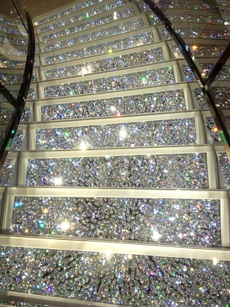 Best Glittery Stairs Just Sparkle Pinterest 640 x 480