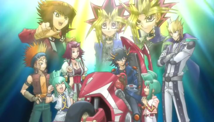 Yu-Gi-Oh! 3D Bonds Beyond Time, known in Japan as Yu-Gi-Oh! The Movie: Super Fusion! Bonds That Transcend Time is a 3D film, starring the three protagonists of Yu-Gi-Oh!, Yu-Gi-Oh! GX and Yu-Gi-Oh! 5D's: Yugi Muto, Jaden Yuki and Yusei Fudo. The movie was produced in celebration of the tenth anniversary of the series. Unlike the previous movie, this movie is canon to the anime series, taking place before the events of the Crash Town arc in Yu-Gi-Oh! 5D's, as well as Paradox revealed to be...