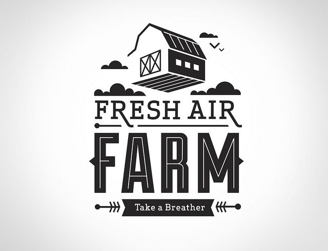 Fresh Air Farm Logo by Whiskey Design, via Flickr
