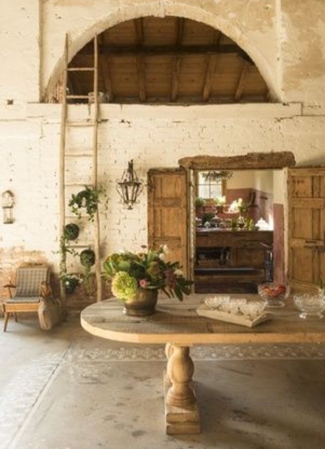 Italian country chic mediterranean european style for Rustic french country