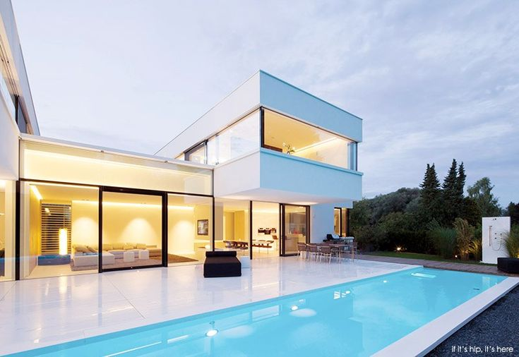 The Bavarian HI-MACS House, designed by owner Karl Dreer with architecture firm Bembé Dellinger, utilizes the innovative mineral material Hi-MACS throughout