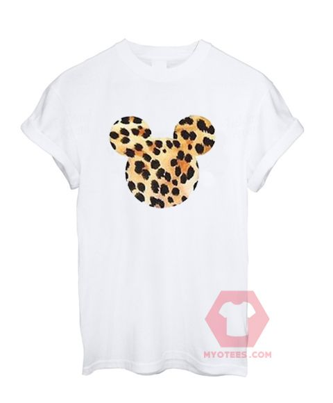Custom Tees Mickey Mouse Art Unisex on Sale