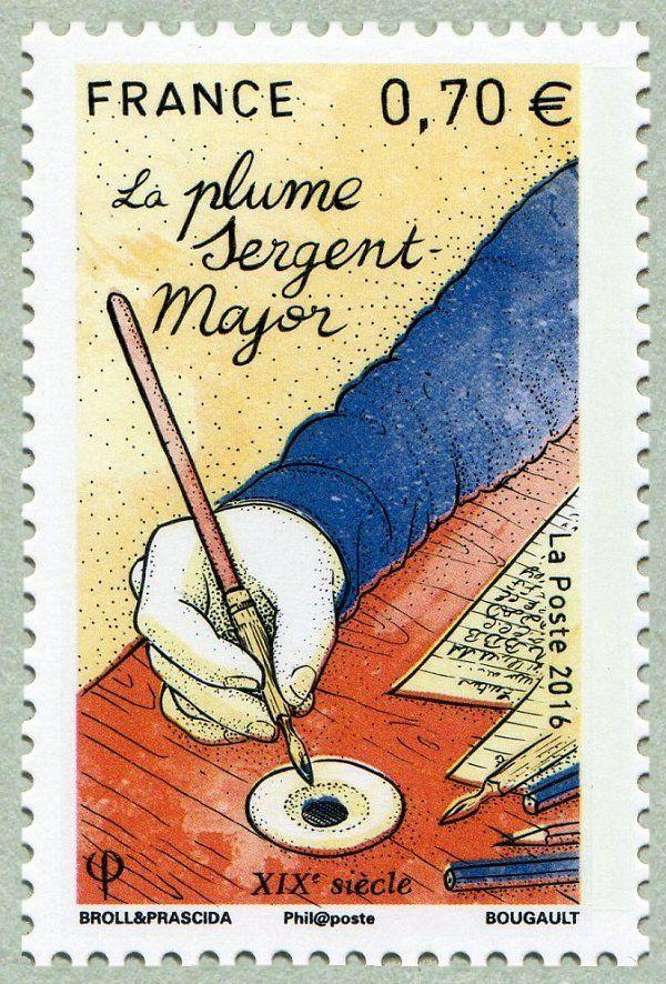 La plume Sergent-Major - XIXe siècle