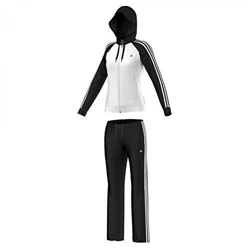 #adidas #Damen #Trainingsanzug #Young #Knit #Suit #XXS #WHITE/BLACK adidas Damen Trainingsanzug Young Knit Suit XXS WHITE/BLACK, , Leichtes, weiches Gewebe für exzellentes Feuchtigkeitsmanagement, Climalite leitet den Schweiß von deiner Haut weg, Eingefasste Vordertaschen, durchgehender Reißverschluss mit verstellbarer Kapuze, Raglanärmel für Bewegungsfreiheit
