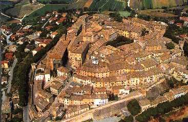 I love Corinaldo in the Marche region of Italy.  My husband's relatives are from this spectacular fortressed town!  We love it here!