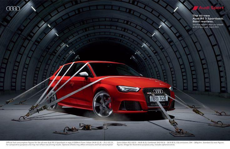 Adeevee - Audi RS 3 Sportback: Born restless