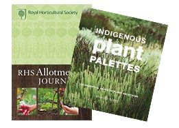 For those of you with green thumbs, ours aren't even remotely green and we envy you! We have a seriously special Deal this week, with a signed copy of Indigenous Plant Palettes AND the RHS Allotment Journal. This Deal will have you planting and reaping the rewards in no time!