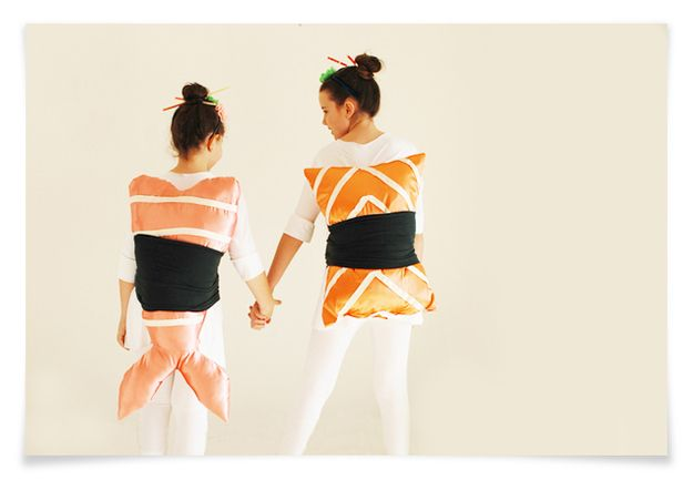 Sushi | 41 Two-Person Costumes That Will Up Your Halloween Game