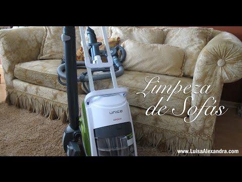 Luisa Alexandra: Limpeza de Sofás com o UNICO Allergy Multifloor & Windows • Polti • VÍDEO