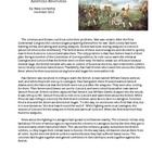 I wrote this to combine the information about the Battle of Lexington and the Battle of Concord. I have concentrated on the most important events o...