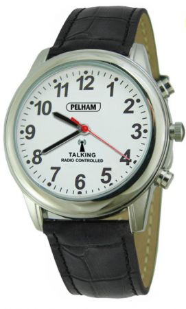 theres no present like the timetalking radio controlled watch with black strap