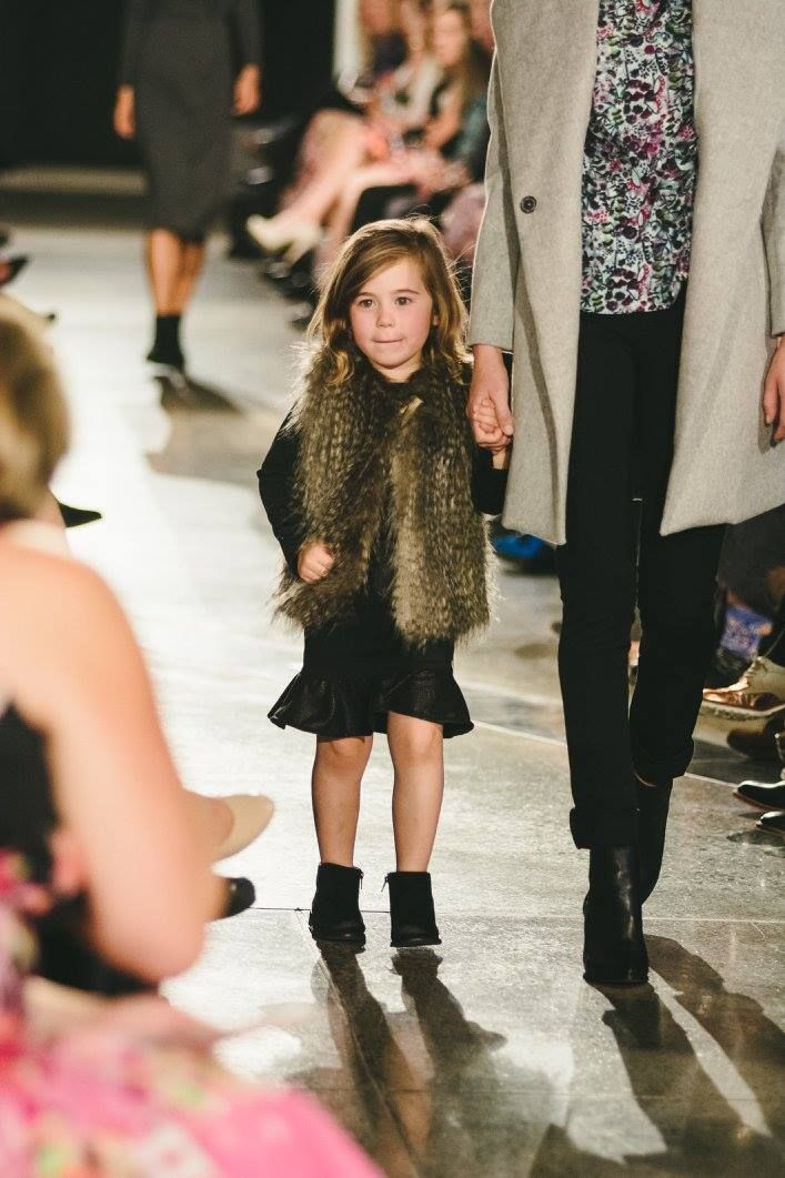 Cuteness overload!! One of our wee models killing it in this outfit from Collective.