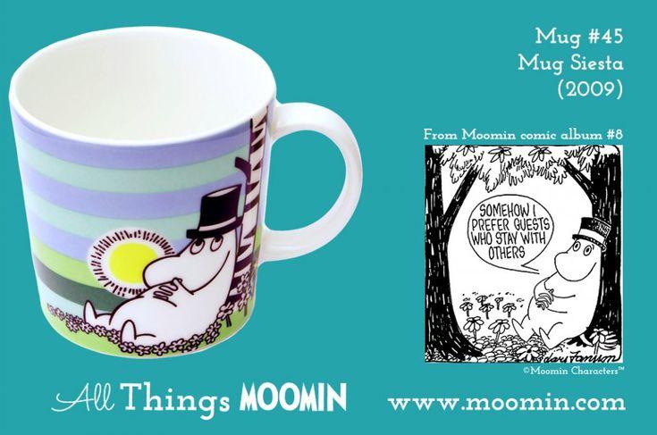 45 Moomin mug Siesta