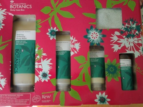BOOTS BOTANICS BODY CARE GIFT SET BODY WASH, POLISH & BUTTER BATH ELIXIR in Health & Beauty | eBay