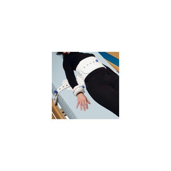 ARNÉS DE MUÑECA A CINTURÓN CON IMANES - REF: 1013: Está ideado para aquellos pacientes que necesitan una sujeción completa a la cama.