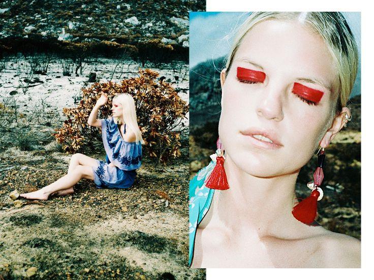 Amori BIRCH / Meso Ishtar Earrings